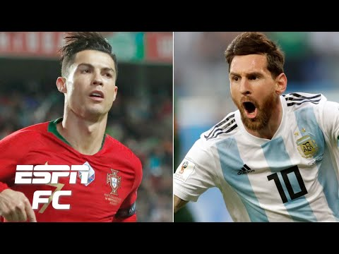 Cristiano Ronaldo Vs. Lionel Messi: Who Is The Top International Goal Scorer? | ESPN FC