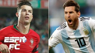 Cristiano Ronaldo vs. Lionel Messi: Who is the top international goal scorer? | ESPN FC