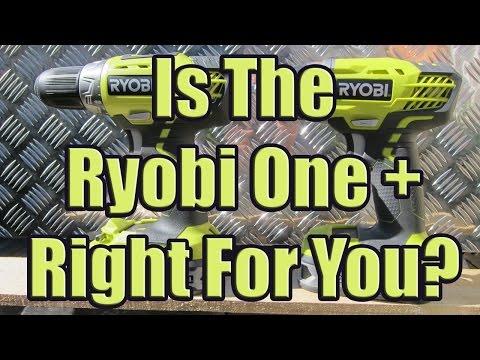 Ryobi Cordless Drill Review (Ryobi 18v Lithium-ion One+ Drill and Impact Driver Kit)