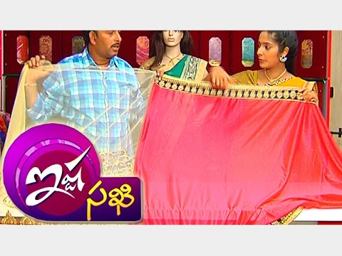Latest Collections of Designer Cotton And Fancy Work Sarees || Ishtasakhi || Vanitha TV