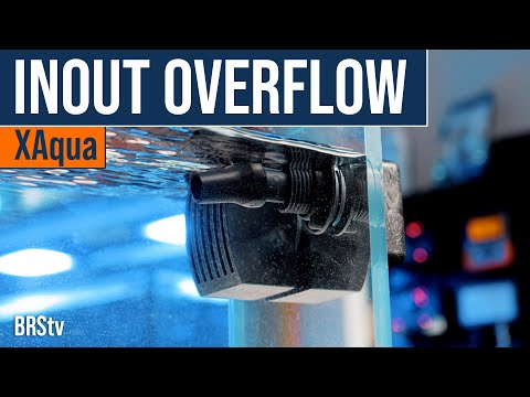 XAqua INOUT Aquarium Overflow Box. Water in & Water Out... It's That Simple!