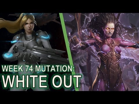 Starcraft 2 Co-Op Mutation #74: White Out [Cold and Calculat