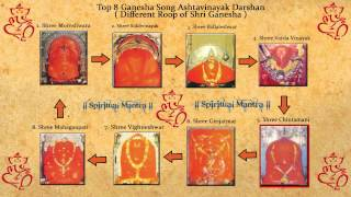Top 8 Ganesha Song Ashtavinayak Darshan ( Different Roop of Shri Ganesha )