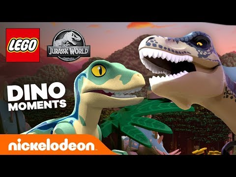11 Best Dino Moments From LEGO Jurassic World! 🦕 | Nick