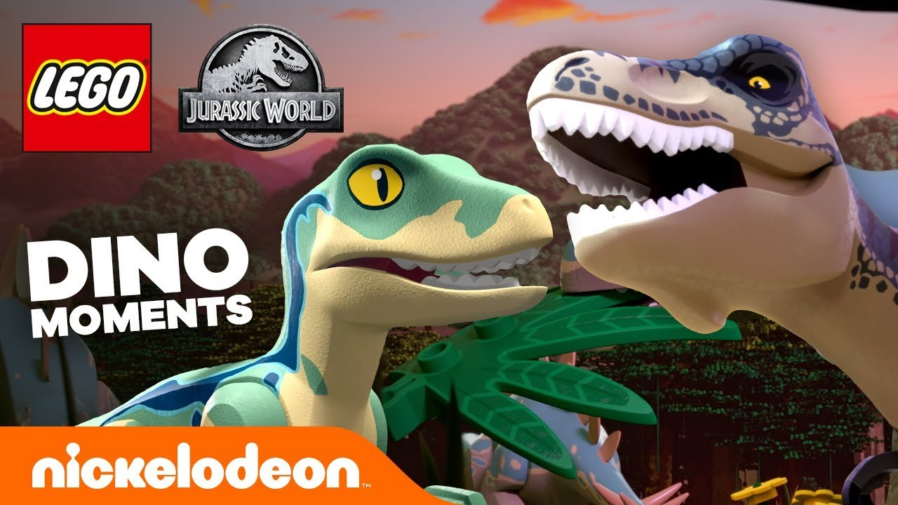 11 Best Dino Moments From Lego Jurassic World Nick Youtube