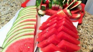 КАК НАРЕЗАТЬ АРБУЗ красиво и быстро. 3 способа. HOW to slice watermelon.