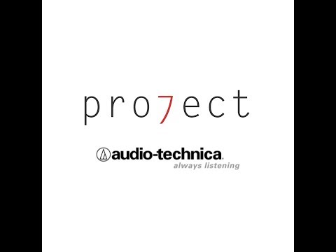 Pro7ect is proudly sponsored by... Audio Technica