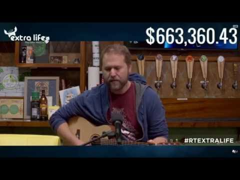 "Matt Hullum Sings ""Hallelujah"" and Caiti's speech at the end of RTExtraLife 2016"