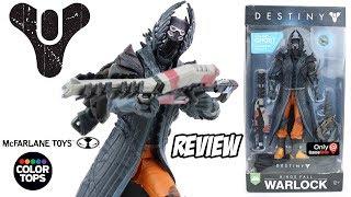 Review Warlock Hallow Shader - ARCANO do game Destiny - McFarlane Toys Color Tops #30 - brinquedo