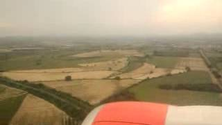 Aterrizaje en el Aeropuerto Rafael Buelna Mazatlan
