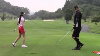 マーク金井と森下千里の「よそでは言えないゴルフの極意」 森下千里 動画 24