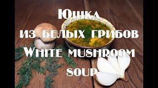 Юшка с белыми грибами по карпатски Yushka with porcini mushrooms in the Carpathian