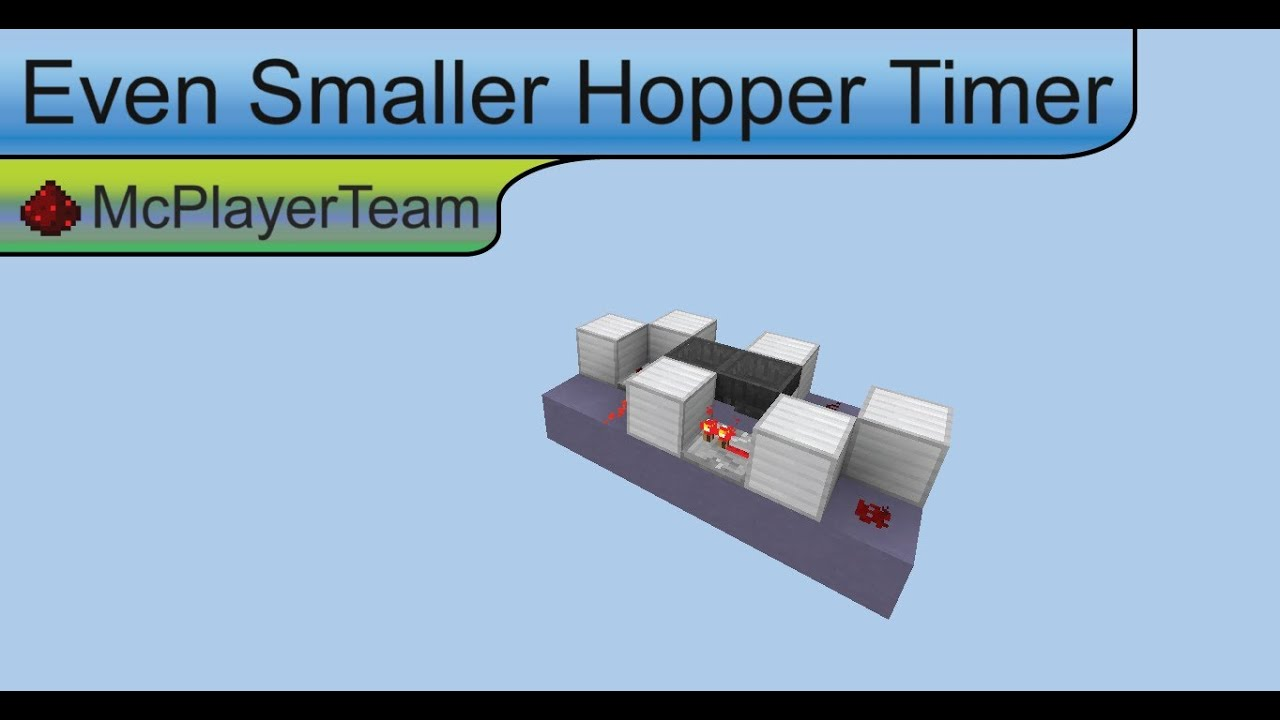 how to build a hopper clock