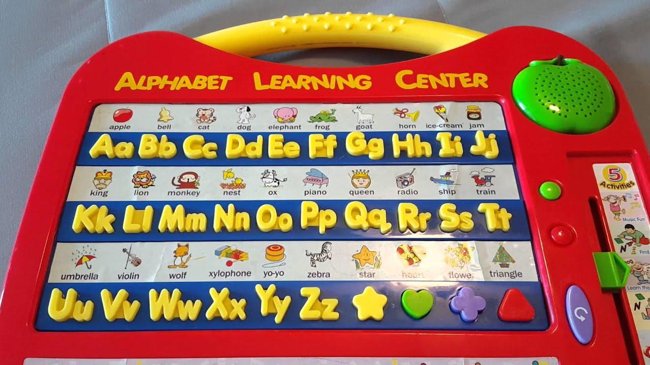Alphabet learning center part 2