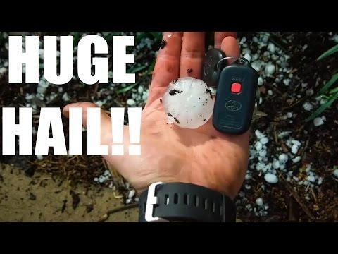 MASSIVE Hail In Greenville SC