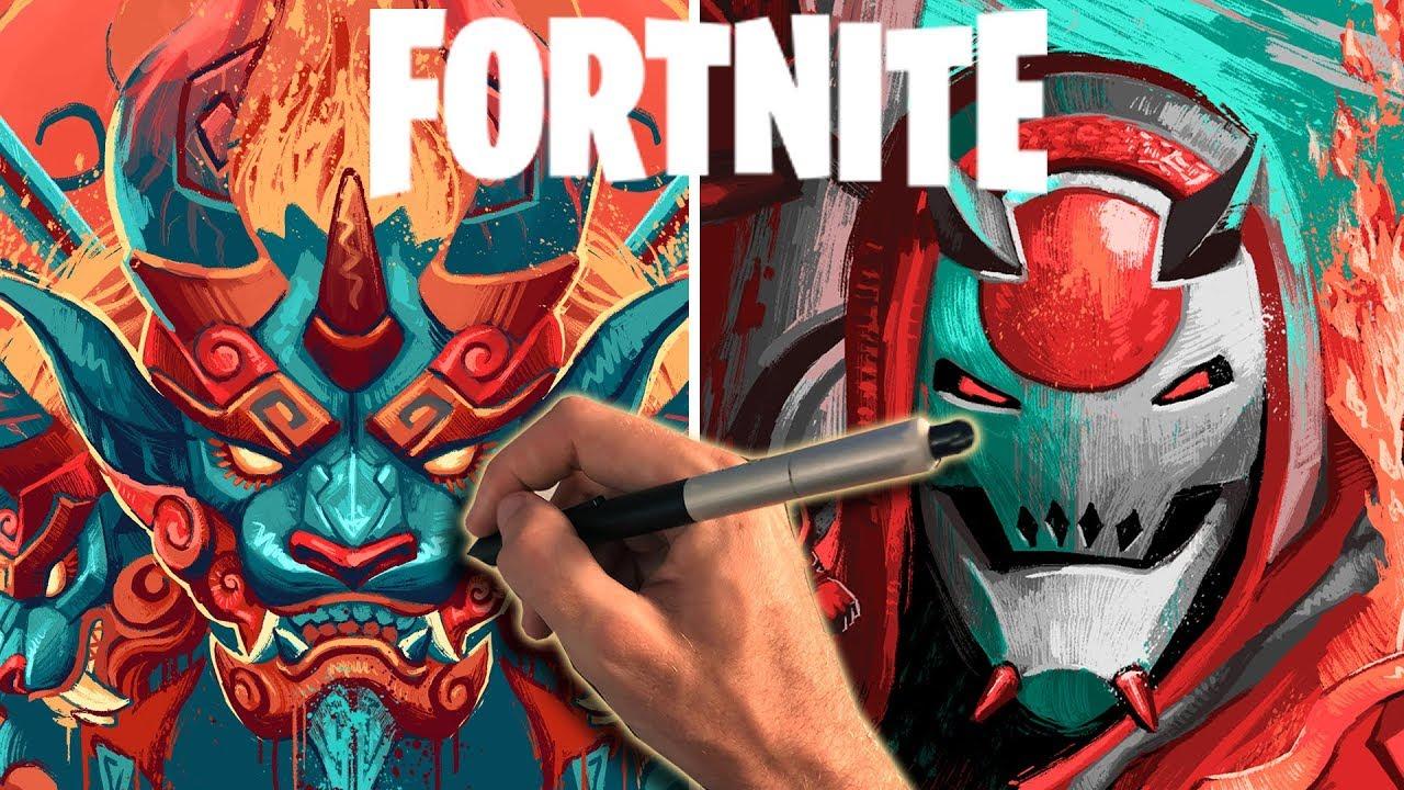 I Created Art For Fortnite Season 10