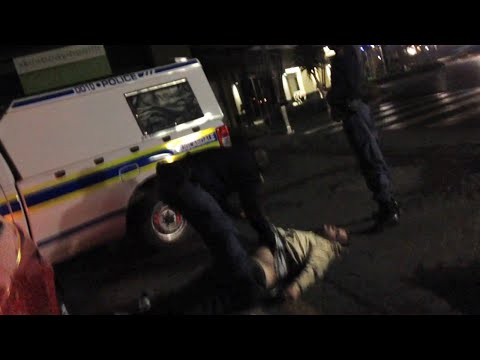Police brutality hits again! South Africa! Secret video footage, Douglasdale SAPS