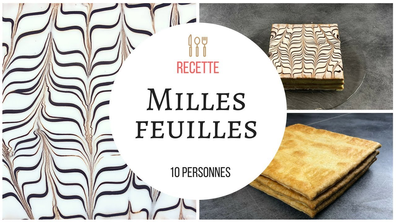 milles feuilles recette cook expert magimix rapide youtube. Black Bedroom Furniture Sets. Home Design Ideas