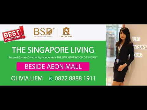 SKY HOUSE BSD+  THE SINGAPORE LIVING Billboard Nov 2017