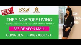 Gambar cover SKY HOUSE BSD+  THE SINGAPORE LIVING Billboard Nov 2017