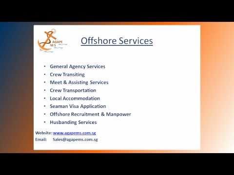 Agape MS - Offshore Marine & Crewing Services - Singapore
