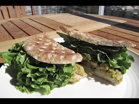 FREE Online Cooking Class - Chickpea Salad Sandwich Recipe