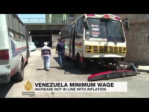 Venezuela's minimum wage fails to beat inflation