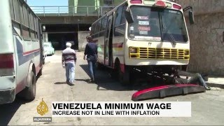 Venezuela's minimum wage fails to beat inflation