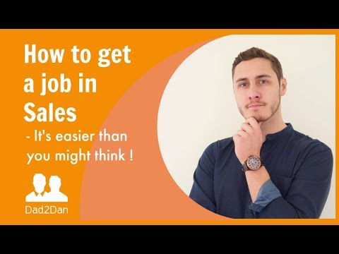 How To Get A Sales Rep Job