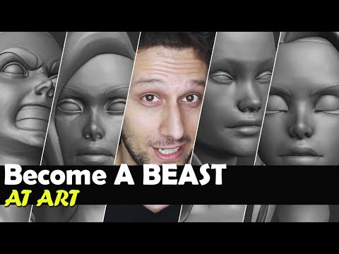 How To Become A Beast At Art