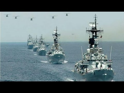 MARINA MILITARE ITALIANA- ITALIAN NAVY SHIPS AT SEA -