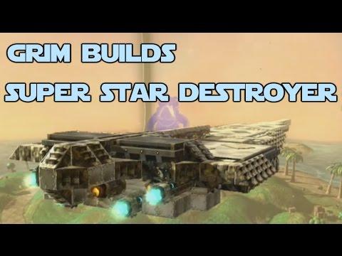 Grim Builds - Super Star Destroyer (Nuts & Bolts)