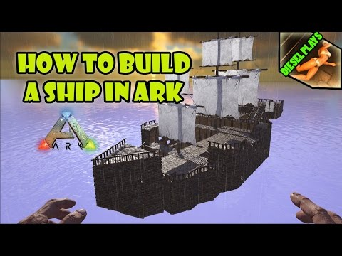 ARK ISLAND EP 3 - HOW TO BUILD A SHIP?