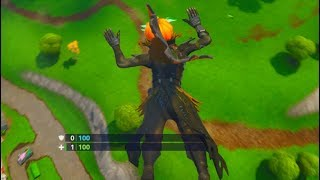 Falling to 1HP on Purpose No Healing.. But Still Win! Dumbest Fortnite Challenge
