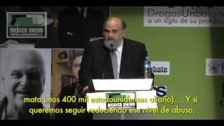 Mark Kleiman (primera ponencia). Foro Internacional Drogas un balance a un siglo de su pro ...