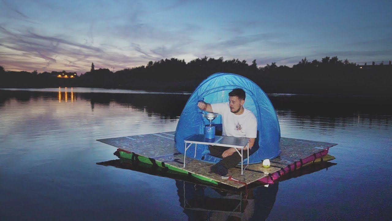 i-went-camping-in-a-floating-tent-on-a-lake-it-was-fun-until-this-happened