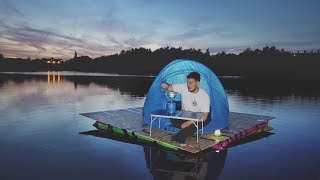 Video I Went Camping in a Floating Tent on a Lake & It Was Fun Until This Happened… download MP3, 3GP, MP4, WEBM, AVI, FLV Oktober 2018