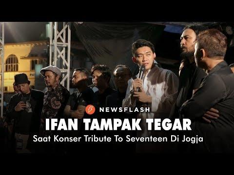 Ifan Tampak Tegar Saat Konser Tribute To Seventeen Di Jogja | NEWSFLASH