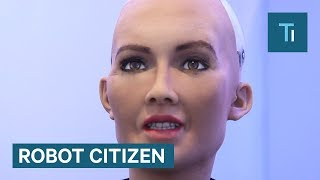 Sophia The Humanoid Robot Just Became A