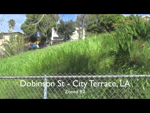 LAND FOR SALE: Dobinson St in City Terrace, Los Angeles