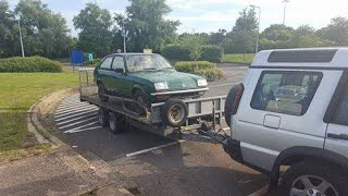 C20xe Vauxhall Chevette Group 4 Rally Car Build