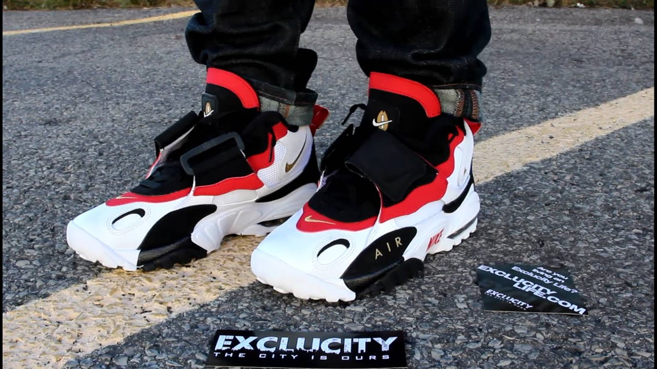 c6ab5902c814 ... clearance air max speed turf 49ers on feet edition exclucity youtube  7ac78 d28d9
