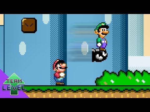 Luigi Wins By Doing Absolutely Nothing In Super Mario World