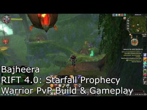 Bajheera – RIFT 4.0 STARFALL PROPHECY: Warrior PvP Build & Gameplay
