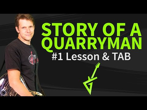 How to play Story of a quarryman Guitar Lesson & TAB Joe Bonamassa