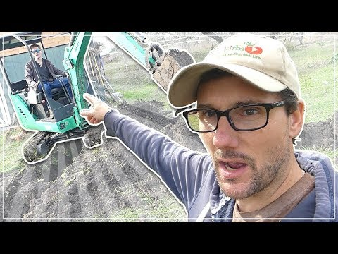 Mini Excavator - Couldn't Have HIRED A BETTER GUY