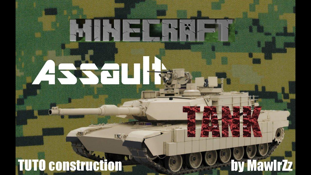 Tuto minecraft construction d 39 un tank arm taille r el for Minecraft tuto construction