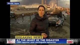 AFTERSHOCKS, EARTHQUAKE AND TSUNAMI WARNINGS IN JAPAN