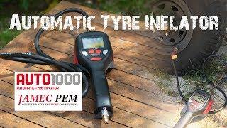 Jamec Pem Auto 1000 Automatic Tyre Inflator Review [2018] - ALLOFFROAD #156