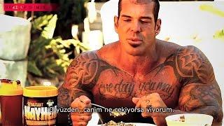 Rich Piana - Antrenman icin beslenmek | Türkce Altyazili